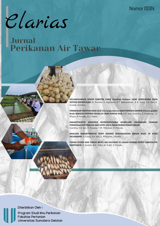 """View Vol. 1 No. 1 (2020): Jurnal Perikanan Air Tawar """"Clarias"""""""